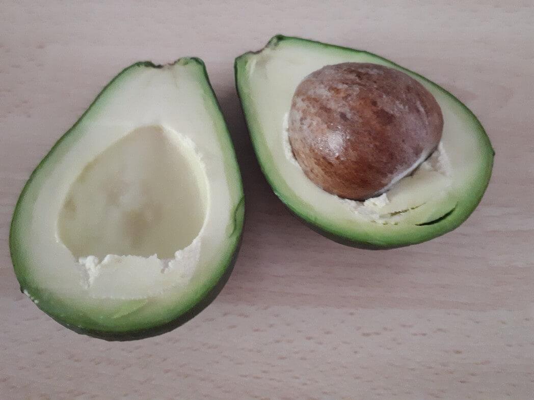1/2 an avocado