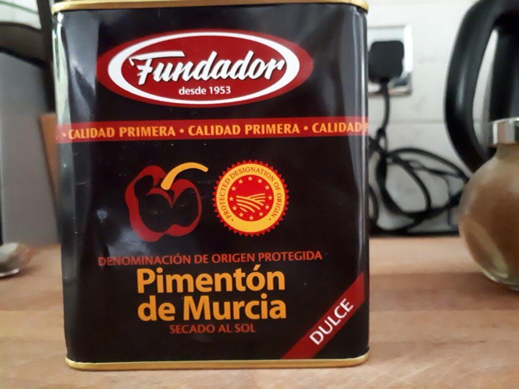 2 tsp Murcian paprika powder